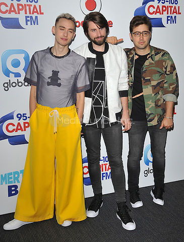 Years &amp; Years at the Capital FM Summertime Ball in aid of the Help a London Child charity, Wembley Stadium, Wembley, London, England, UK, on Saturday 11 June 2016.<br /> CAP/CAN<br /> &copy;CAN/Capital Pictures /MediaPunch ***NORTH AND SOUTH AMERICA ONLY***