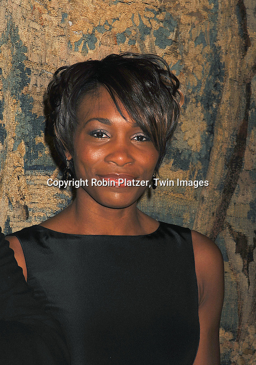 Venus Williams..arriving at The 7th on Sale Black Tie Gala Dinner on ..November 15, 2007 at The 69th Regiment Armory in New York. The Fashion Industry's Battle Against HIV and AIDS..will benefit...Robin Platzer, Twin Images