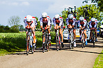 WV De Jonge Renner, Stage 2: Team Time Trial, 62th Olympia's Tour, Netterden, The Netherlands, 13th May 2014, Photo by Thomas van Bracht / Peloton Photos