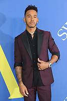 BROOKLYN, NY - JUNE 4: Lewis Hamilton at the 2018 CFDA Fashion Awards at the Brooklyn Museum in New York City on June 4, 2018. <br /> CAP/MPI/JP<br /> &copy;JP/MPI/Capital Pictures