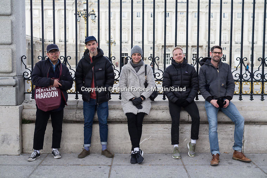 BNPS.co.uk (01202 558833)<br /> Pic: Salad/BNPS<br /> <br /> Staff ioutside the Prado.<br /> <br /> The best boss in the world ???<br /> <br /> Arabella Lewis-Smith of Poole based PR firm Salad picked up the bill for her 20 staff to fly to Madrid for a weekend away as their Christmas party.<br /> <br /> The founder of creative agency Salad Creative in Poole, Dorset, paid £5,000 for Easyjet flights from London Gatwick to Madrid, their AirBnB accommodation in central Madrid for two nights and two boozy dinners out.<br /> <br /> The 42 year-old, who founded the business 16 years ago, said she wanted to reward her staff for a bumper year when they had secured major contracts.