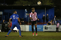 Jay Knight of Clapton goes close to a goal during Redbridge vs Clapton, Essex Senior League Football at Oakside Stadium on 14th November 2017