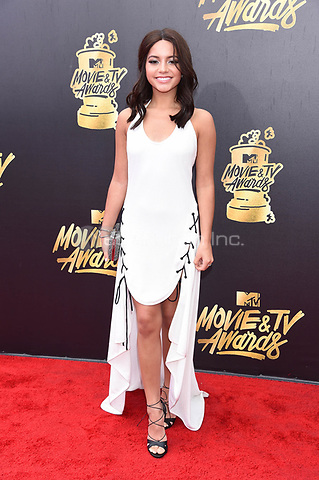 LOS ANGELES, CA - MAY 7: Isabela Moner at the 2017 MTV Movie and TV Awards at The Shrine Auditorium in Los Angeles, California on May 7, 2017. Credit: David Edwards/MediaPunch