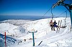Golan Heights, snow on Mount Hermon