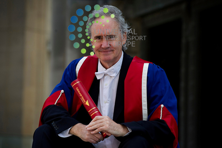 Nigel Planer, actor and playwright, famed for his role in The Young Ones as the hippy student Neil, receives an Honorary Doctorate of Arts from Napier University at the Usher Hall, Edinburgh, 14th June, 2011..Picture:Scott Taylor Universal News And Sport (Europe) .All pictures must be credited to www.universalnewsandsport.com. (Office)0844 884 51 22.
