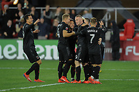 Washington, D.C. - March 16, 2019: D.C. United defeated Real Salt Lake 5-0 during their Major League Soccer (MLS) match at Audi Field.