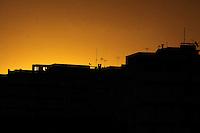 Rio de  Janeiro,22 de  juho de  2012- Fim de tarde  na  capital  fluminense.<br /> Guto Maia /Brazil Photo Press