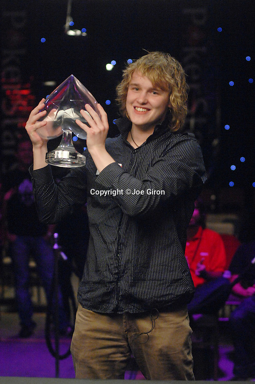 Karl Hevroy is the champion of the LAPT Season 2 Punta del Este event.