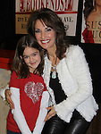 """All My Children Susan Lucci poses with Haley Evens """"Miranda"""" as she signs her new book """"All My Life"""" - a memoir - on March 29, 2011 at Bookends, Ridgewood, New Jersey for her fans. She held a Q & A before signing. (Photo by Sue Coflin/Max Photos)"""