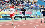 November 14 2011 - Guadalajara, Mexico:  Jackie Marciano competing in the 400m Final at the 2011 Parapan American Games in Guadalajara, Mexico.  Photos: Matthew Murnaghan/Canadian Paralympic Committee