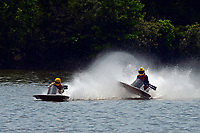 Frame 15: 40-M rides up the rooster tail of 20-M    (Outboard Hydroplane)