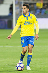 Hernan Daniel Santana of UD Las Palmas during the match of La Liga between Deportivo Leganes and Union Deportiva Las Palmas  Butarque Stadium  in Madrid, Spain. April 25, 2017. (ALTERPHOTOS/Rodrigo Jimenez)