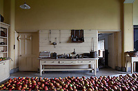 The original kitchen has changed very little in hundreds of years, still housing its original furnishings and utensils