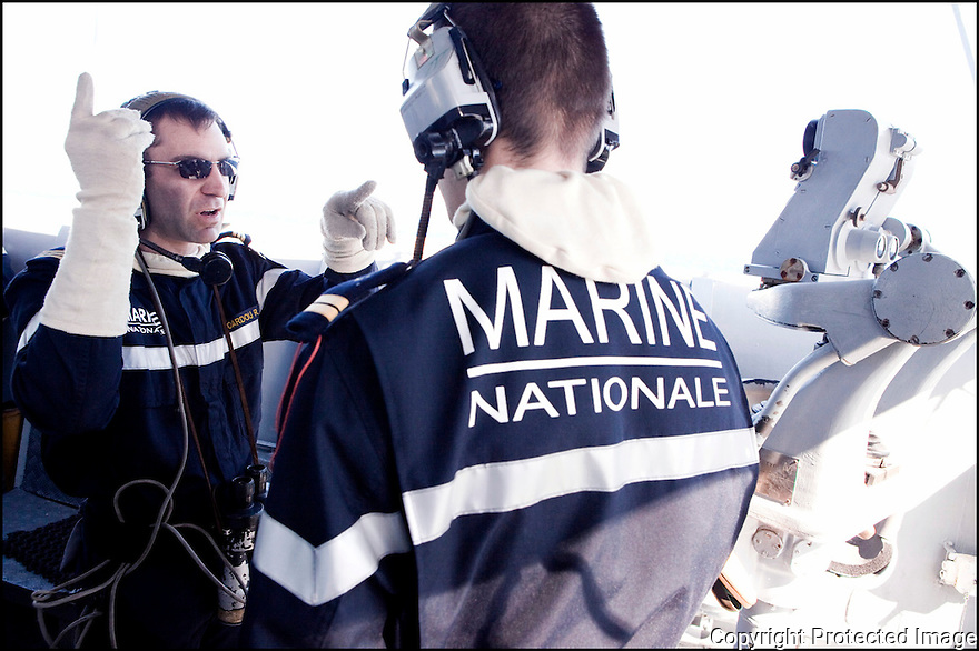 Décembre 2008/ Mer Rouge/ Exercices de tir.