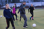 FA Community Awards Launch Event at Fishguard AFC with McDonalds football ambassador Ryan Giggs.<br /> 20.02.17<br /> &copy;Steve Pope - Sportingwales