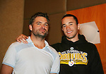 Daniel Cosgrove & Tom Pelphrey - So Long Springfield event celebrating 7 wonderful decades of Guiding Light which brought out Guiding Light Actors as they  came to see fans at the Hyatt Regency in Pittsburgh, PA. for Q & A, acting scenes between actors and fans by GL finest during the weekend of October 25, 2009. (Photo by Sue Coflin/Max Photos)
