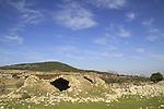 Israel, Upper Galilee, Hurvat Zeved on Mount Meron