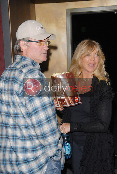 """Kurt Russell and Goldie Hawn<br /> at the Los Angeles Premiere for """"The Square,"""" Landmark Theater, Los Angeles, CA. 04-05-10<br /> David Edwards/DailyCeleb.com 818-249-4998"""