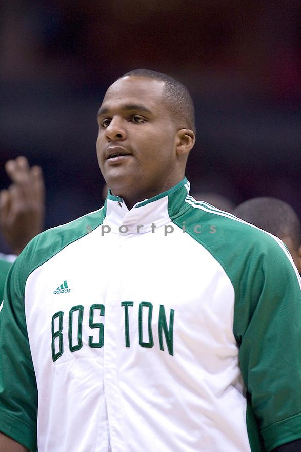 Glen Davis.March 09, 2010 Milwaukee, WI. Bradley Center...Milwaukee Buck won over the Boston Celtics 86-84.