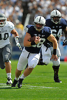 07 September 2013:  Penn State RB Zach Zwinak (28). The Penn State Nittany Lions defeated the Eastern Michigan Eagles 45-7 at Beaver Stadium in State College, PA.