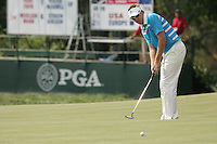 Ian Poulter putting on the 8th during the saturday afternoon fourball at The 37th Ryder cup from Valhalla Golf Club in Louisville, Kentucky....Photo: Fran Caffrey/www.golffile.ie.