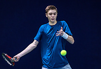 Hilversum, Netherlands, December 2, 2018, Winter Youth Circuit Masters, Brian Bozemoj (NED)<br /> Photo: Tennisimages/Henk Koster