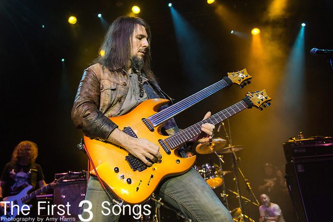 "Ron ""Bumblefoot"" Thal of The Stowaways perform during the 2016 ShipRocked Cruise. ShipRocked set sail January 18-22, 2016, from Miami to Costa Maya, Mexico on the Norwegian Pearl."