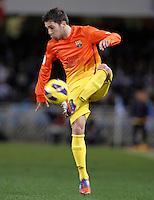 FC Barcelona's Jordi Alba during La Liga match.January 19,2013. (ALTERPHOTOS/Acero) /NortePhoto