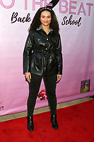 """LOS ANGELES - MAR 8:  Sophia Glemaud at the """"To the Beat! Back 2 School"""" World Premiere Arrivals at the Laemmle NoHo 7 on March 8, 2020 in North Hollywood, CA"""
