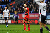 Daniel Williams of Huddersfield Town celebrates making it two nil during Bolton Wanderers vs Huddersfield Town, Emirates FA Cup Football at the Macron Stadium on 6th January 2018