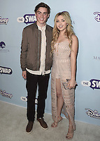 """HOLLYWOOD - OCTOBER 5:  Spencer List and Peyton List at the Los Angeles premiere of """"The Swap"""" at ArcLight Hollywood on October 5, 2016 in Hollywood, California. Credit: mpi991/MediaPunch"""