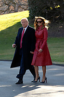 President Donald J. Trump Departs the White House for Mar-a-Lago