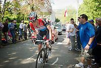 Bob Jungels (LUX/Trek Factory Racing)<br /> <br /> La Flèche Wallonne 2014
