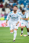 Sergio Ramos of Real Madrid in training prior to the Santiago Bernabeu Trophy 2017 match between Real Madrid and ACF Fiorentina at the Santiago Bernabeu Stadium on 23 August 2017 in Madrid, Spain. Photo by Diego Gonzalez / Power Sport Images