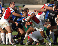 20,05/06 Powergen Cup Bath Rugby vs Bristol Rugby, Jacob Rauluni, breaks from the back of the scrum. Bath, ENGLAND, 01.10.2005   © Peter Spurrier/Intersport Images - email images@intersport-images..