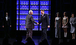 John Dossett and Douglas Sills during the Broadway opening night performance curtain call for 'War Paint' at the Nederlander Theatre on April 6, 2017 in New York City