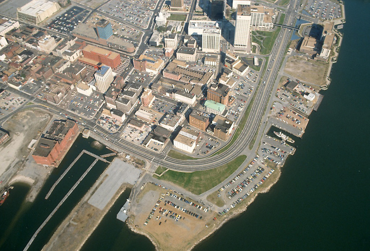 1978..Redevelopment.Downtown West (A-1-6)..AERIAL.LOOKING EAST....NEG#.NRHA#..