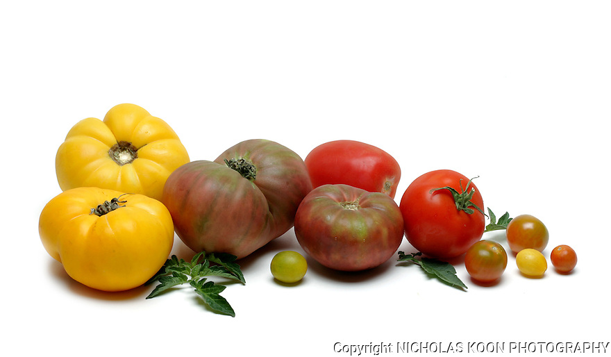 Tomatoes still life.