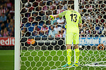 Atletico de Madrid's player Jan Oblak during match of UEFA Champions League at Vicente Calderon Stadium in Madrid. September 28, Spain. 2016. (ALTERPHOTOS/BorjaB.Hojas)