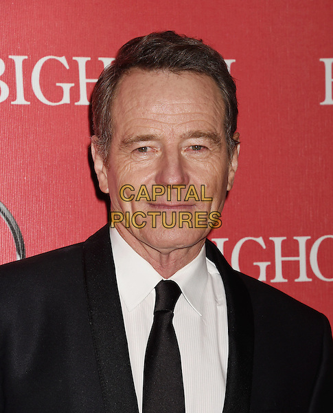 PALM SPRINGS, CA - JANUARY 02: Actor Bryan Cranston attends the 27th Annual Palm Springs International Film Festival Awards Gala at Palm Springs Convention Center on January 2, 2016 in Palm Springs, California.<br /> CAP/ROT/TM<br /> &copy;TM/ROT/Capital Pictures