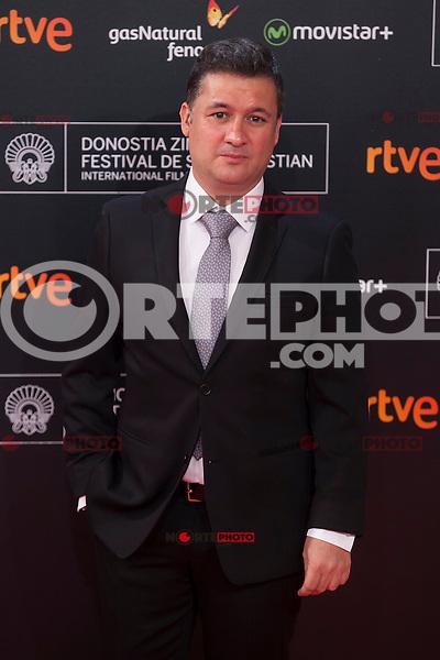 Secun de la Rosa poses before 63rd Donostia Zinemaldia opening ceremony (San Sebastian International Film Festival) in San Sebastian, Spain. September 18, 2015. (ALTERPHOTOS/Victor Blanco) /NortePhoto.com