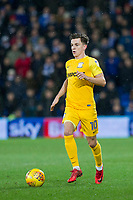 Josh Harrop of Preston North End during the Sky Bet Championship match between Cardiff City and Preston North End at the Cardiff City Stadium, Cardiff, Wales on 29 December 2017. Photo by Mark  Hawkins / PRiME Media Images.