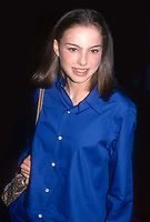 Natalie Portman 1999<br /> Photo By John Barrett/PHOTOlink.net /MediaPunch
