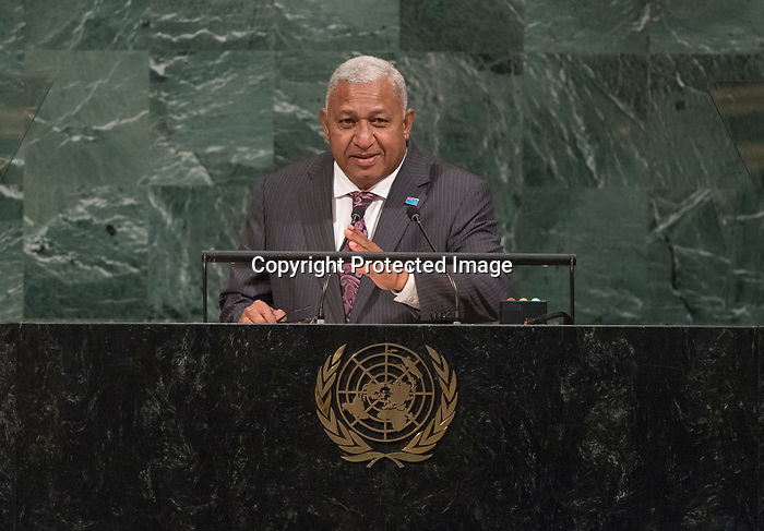 72 General Debate – 20 September <br /> <br /> by His Excellency Josaia Voreqe Bainimarama, Prime Minister of the Republic of Fiji