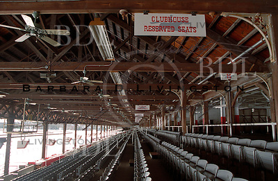Saratoga Race Course, grandstand interior. Saratoga Race Course, Saratoga Racetrack, beautiful horse racing, Thoroughbred racing, horse, equine, racehorse, morning mood scenic, mood, horse racing, pretty, racehorse, horse, equine, racetrack, track, saratoga