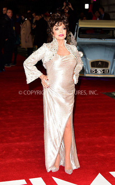 www.acepixs.com<br /> <br /> March 8 2017, London<br /> <br /> Joan Collins arriving at the World Premiere of 'The Time Of Their Lives' at the Curzon Mayfair on March 8, 2017 in London<br /> <br /> By Line: Famous/ACE Pictures<br /> <br /> <br /> ACE Pictures Inc<br /> Tel: 6467670430<br /> Email: info@acepixs.com<br /> www.acepixs.com