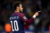 Celebration Esultanza de Neymar Jr (PSG) apres son but<br /> <br /> Parigi 31-10-2017 <br /> Paris Saint Germain - Anderlecht Champions League 2017/2018<br /> Foto Panoramic / Insidefoto