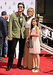 HOLLYWOOD, CA- APRIL 27: Actors Jim Carrey, Jane Fonda and granddaughter Viva Vadim attend actress Jane Fonda's Handprint/Footprint Ceremony during the 2013 TCM Classic Film Festival at TCL Chinese Theatre on April 27, 2013 in Los Angeles, California.