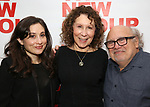 "Lucy Devito, Rhea Perlman and Danny Devito attends The New Group presents the New York Premiere Opening Night of David Rabe's for ""Good for Otto"" on March 8, 2018 at the Green Fig Urban Eatery,  in New York City."