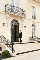 La Grande Maison, entrance to the hotel, Bordeaux, France,